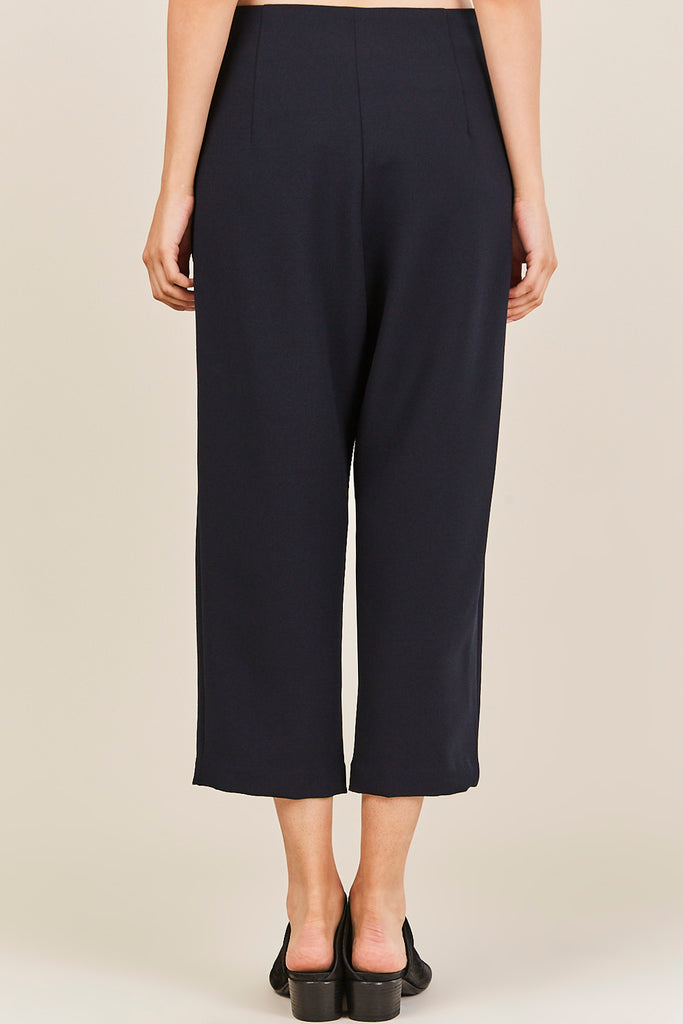 KAAREM - Sua Tapered Trouser, Dark Grey