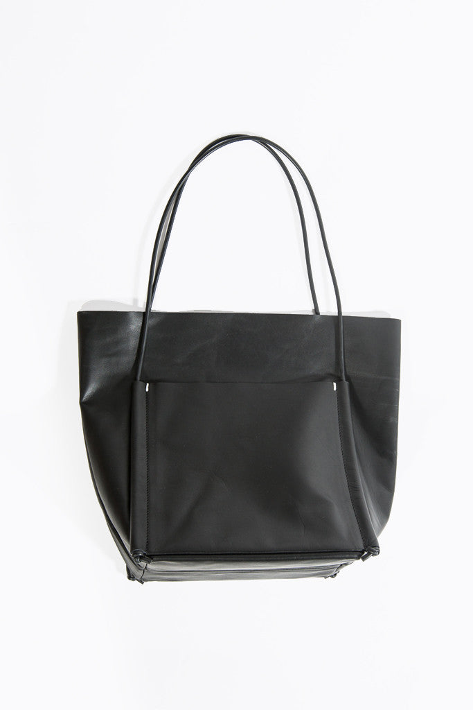 Pocket Tote, Black