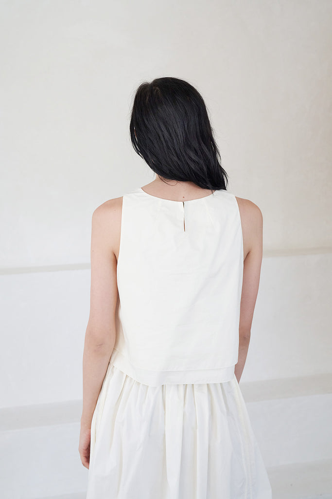 Apiece Apart - agnes top, cream