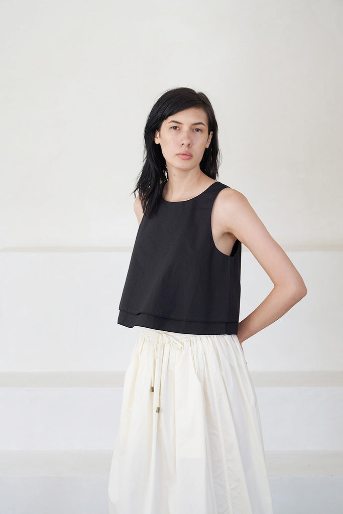 Apiece Apart - agnes top, black