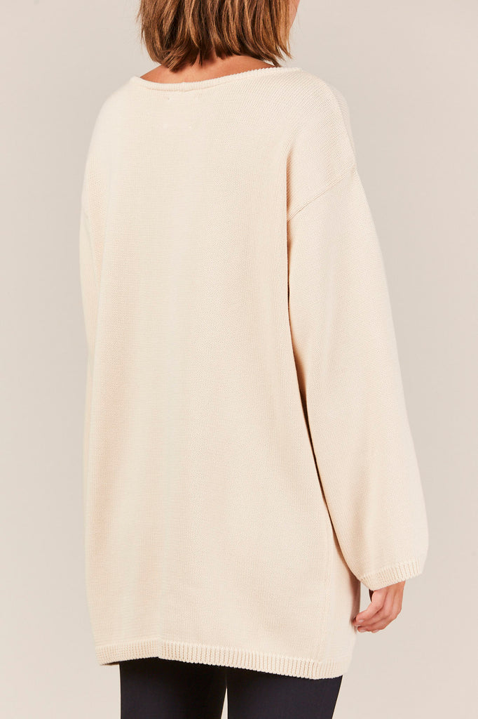 Kowtow - Lakeside Sweater, Cream
