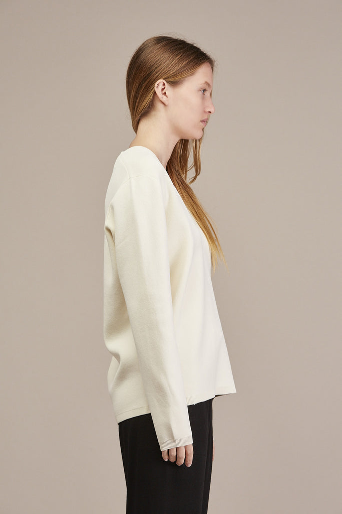 Pernille V-neck Sweater by Won Hundred @ Kick Pleat - 5