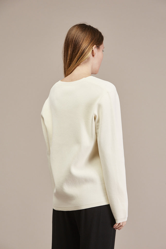 Pernille V-neck Sweater by Won Hundred @ Kick Pleat - 6