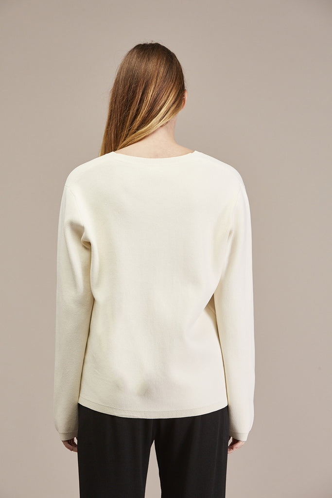Pernille V-neck Sweater by Won Hundred @ Kick Pleat - 7