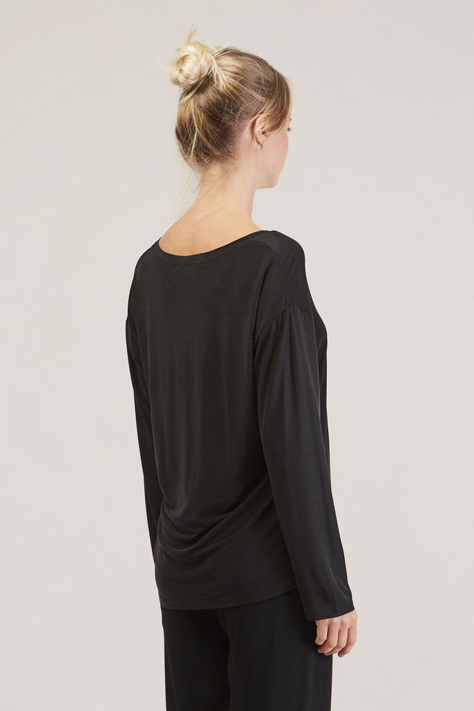 Loose l/s tee, Ink by Shaina Mote @ Kick Pleat - 5