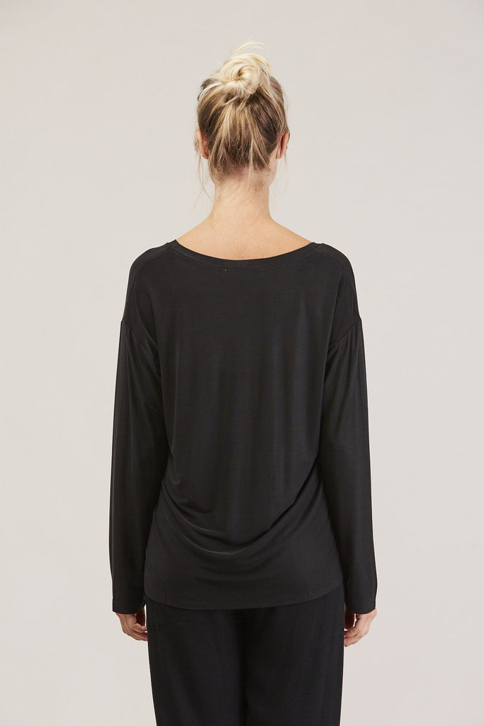 Loose l/s tee, Ink by Shaina Mote @ Kick Pleat - 6
