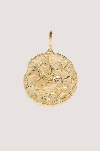 Large Pegasus Coin, Gold