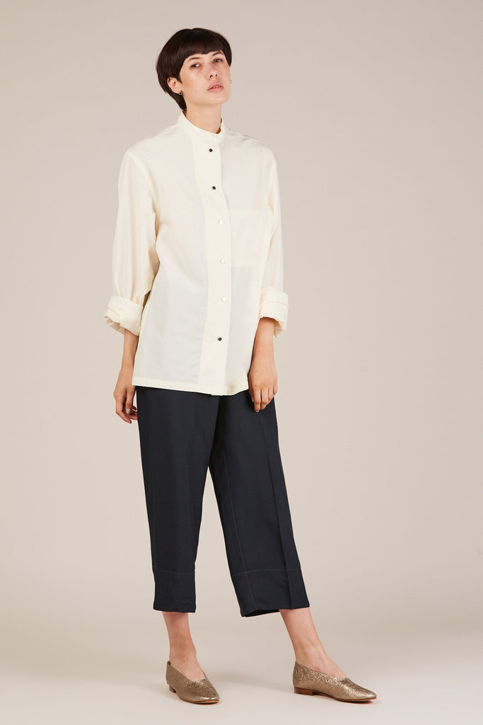Double flap shirt, Butter