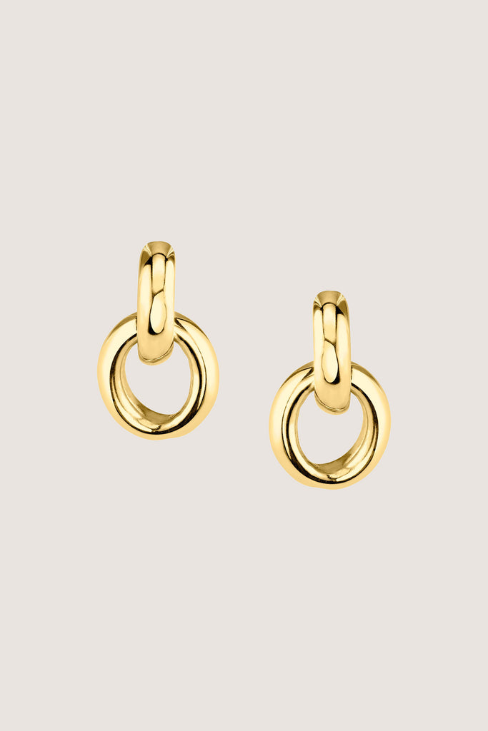 Gabriela Artigas - Link Earrings, Gold