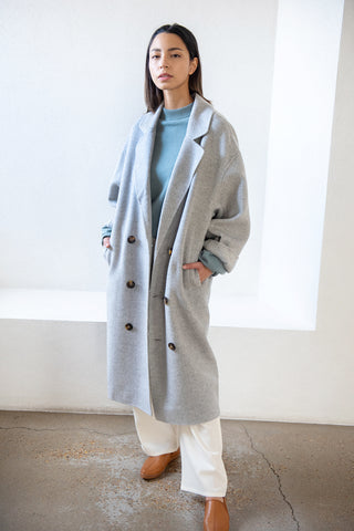 BORNEO coat, grey