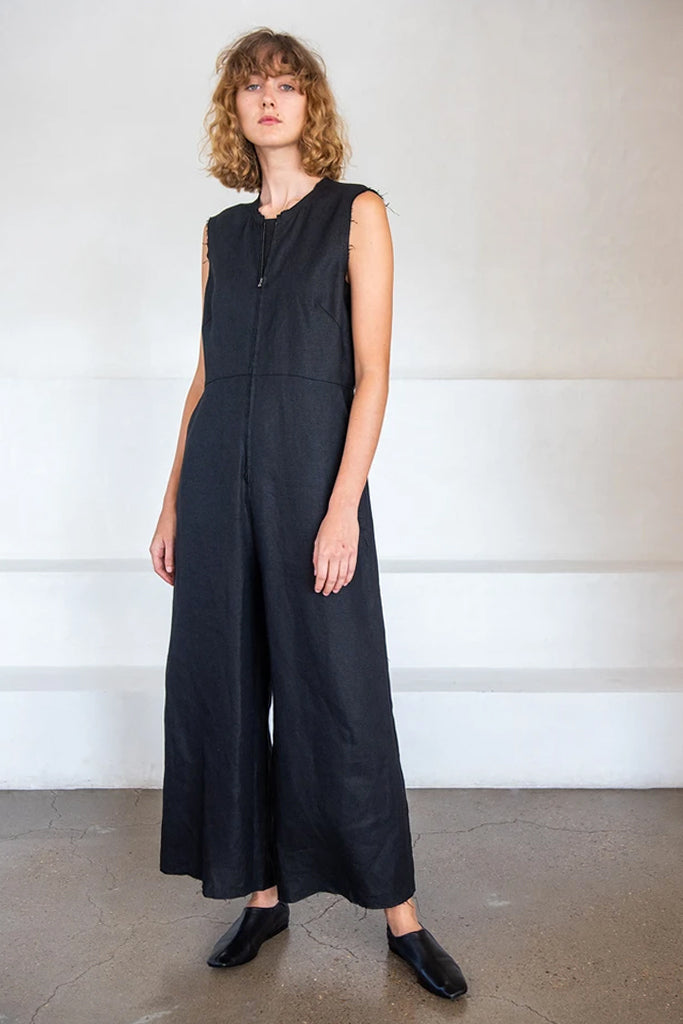 malden jumpsuit, black