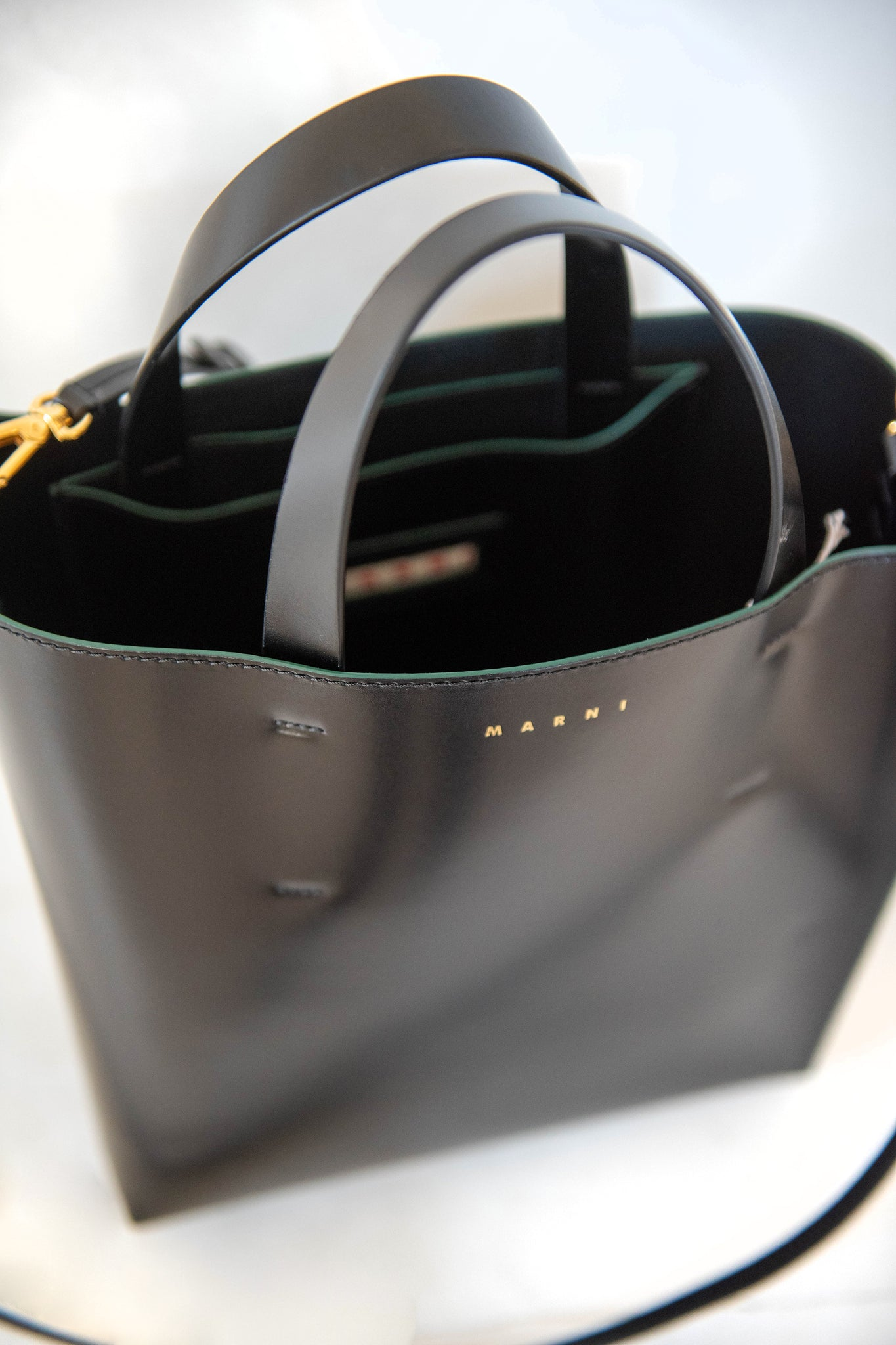 MARNI - small museo bag, black