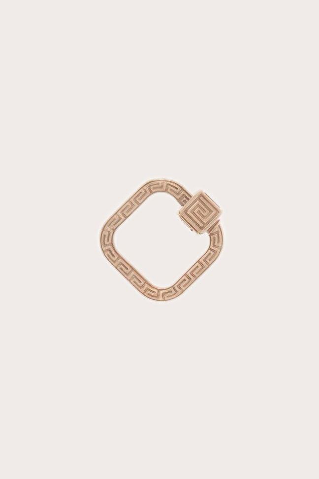 Meander Lock, Rose Gold
