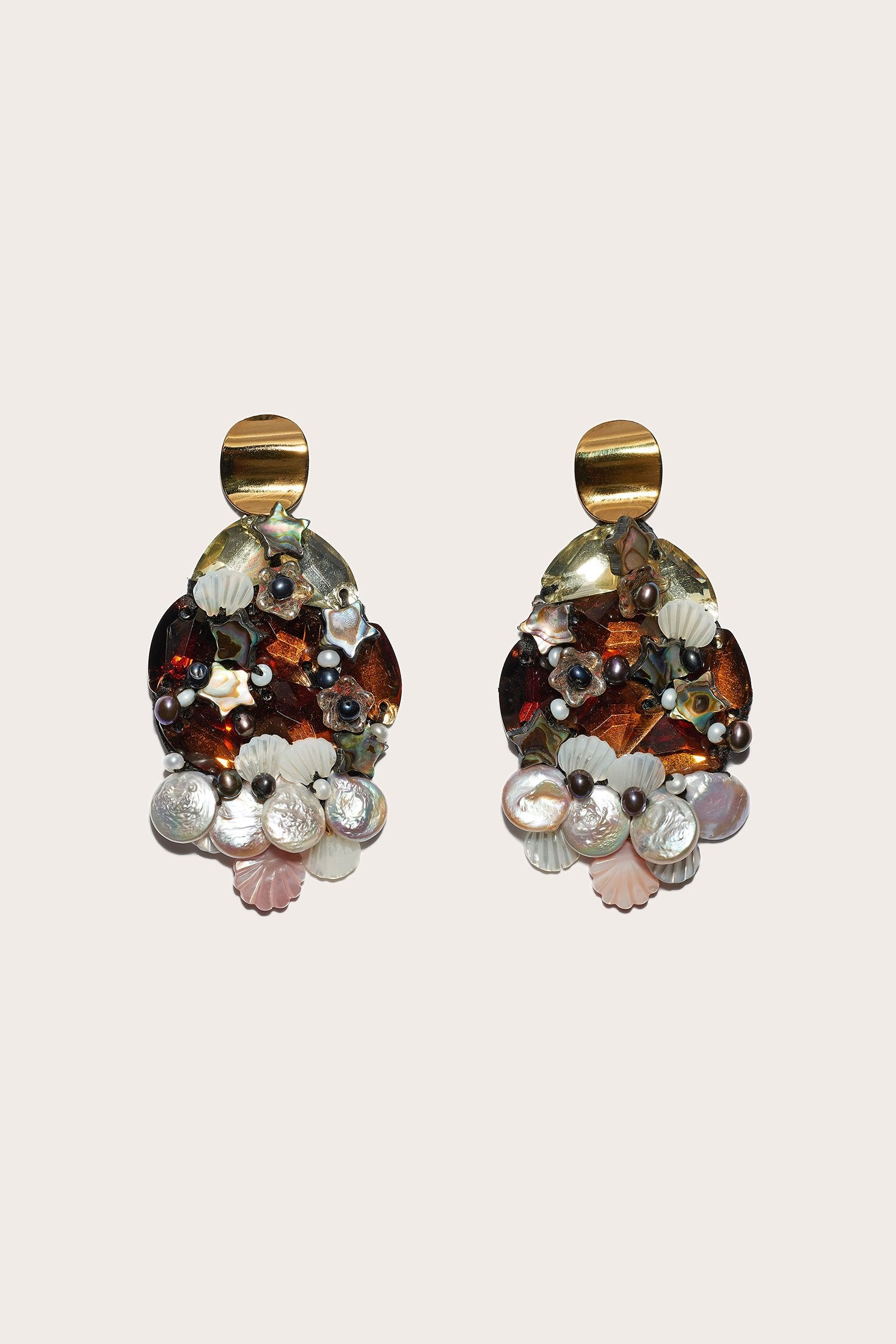 Lizzie Fortunato - Mediterranean Reflection Earring, Multi