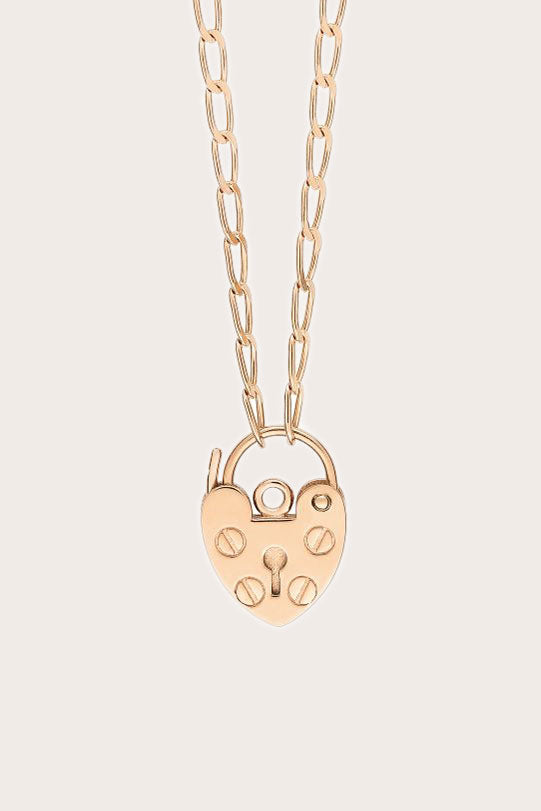 Ginette NY - Mini Providence Necklace, Rose Gold