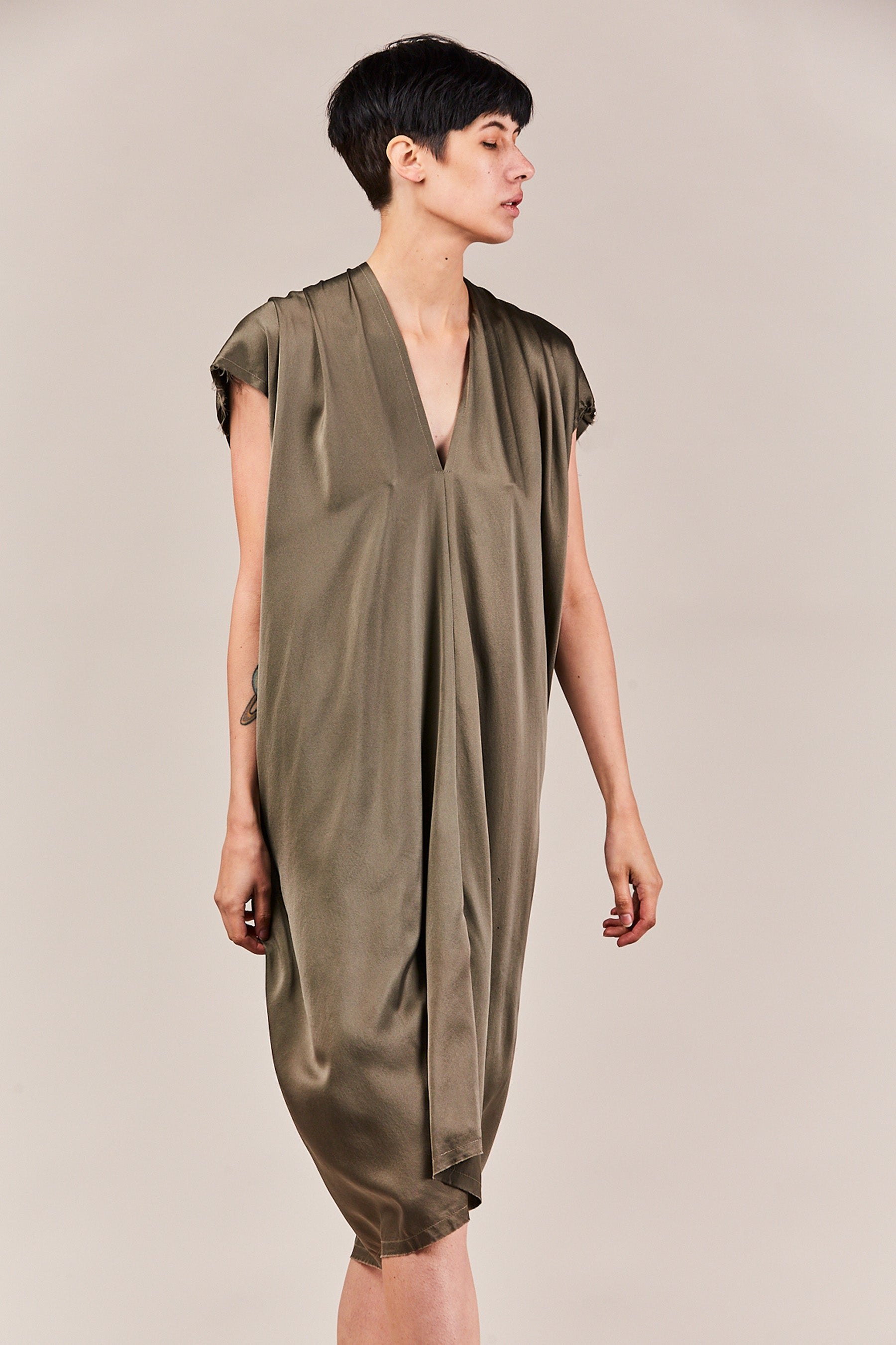 Miranda Bennett - charmeuse everyday dress