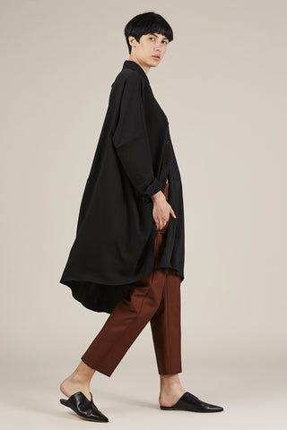 Asymmetrical Tunic, Black