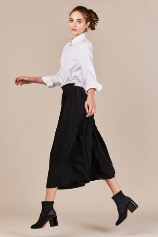 Black Pleated Pant