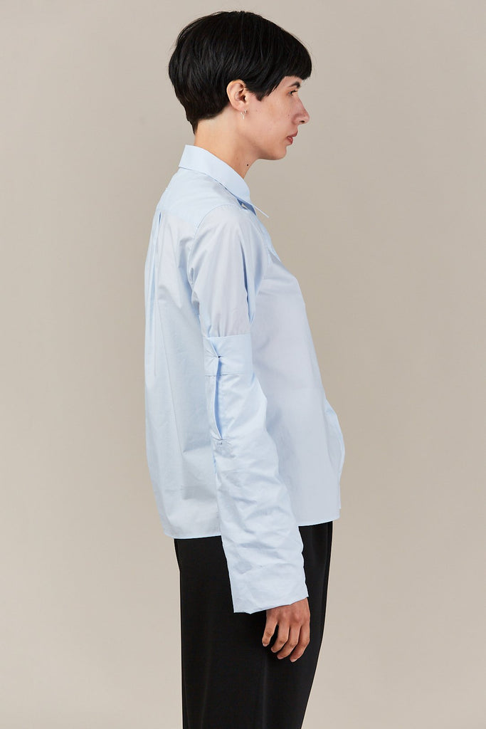 MM6 Maison Margiela - Shirt with extended sleeve