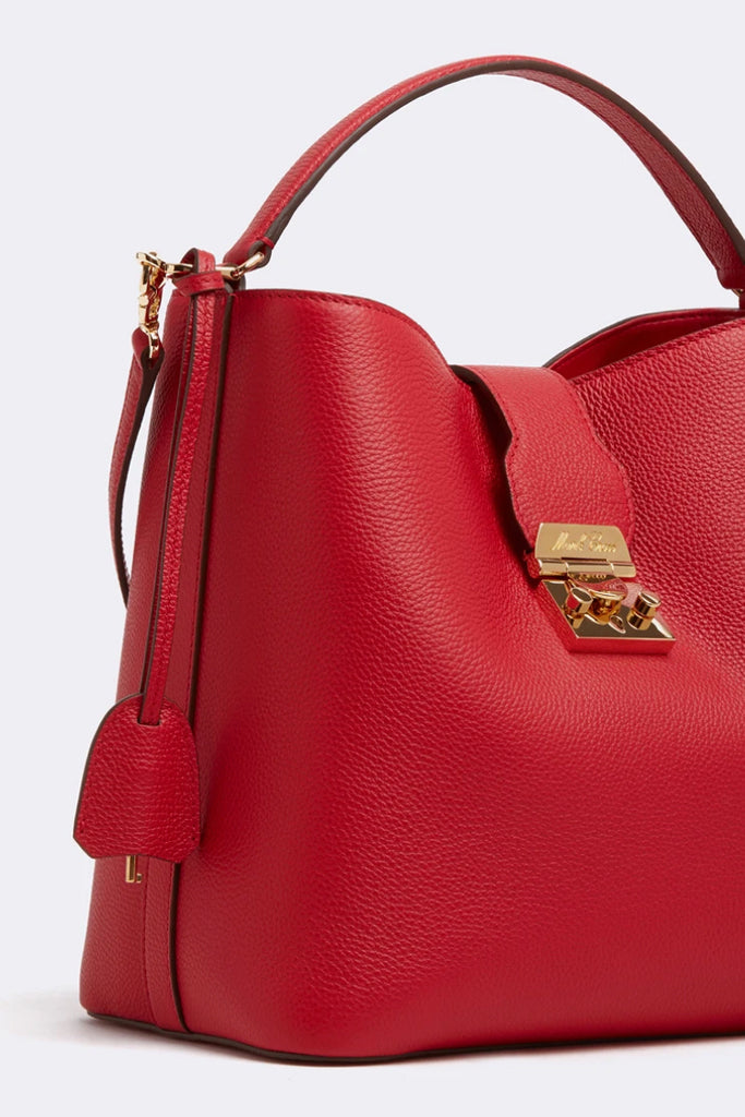 Murphy Bucket Bag, Red