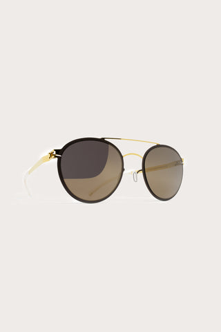 Buster Sunglasses, Gold/Jet Black