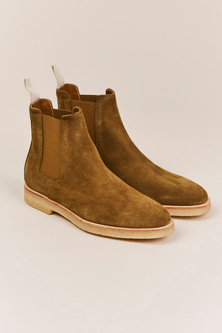 Chelsea Suede Boot, Tobacco