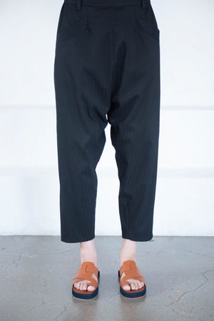 pas de calais - pants, black