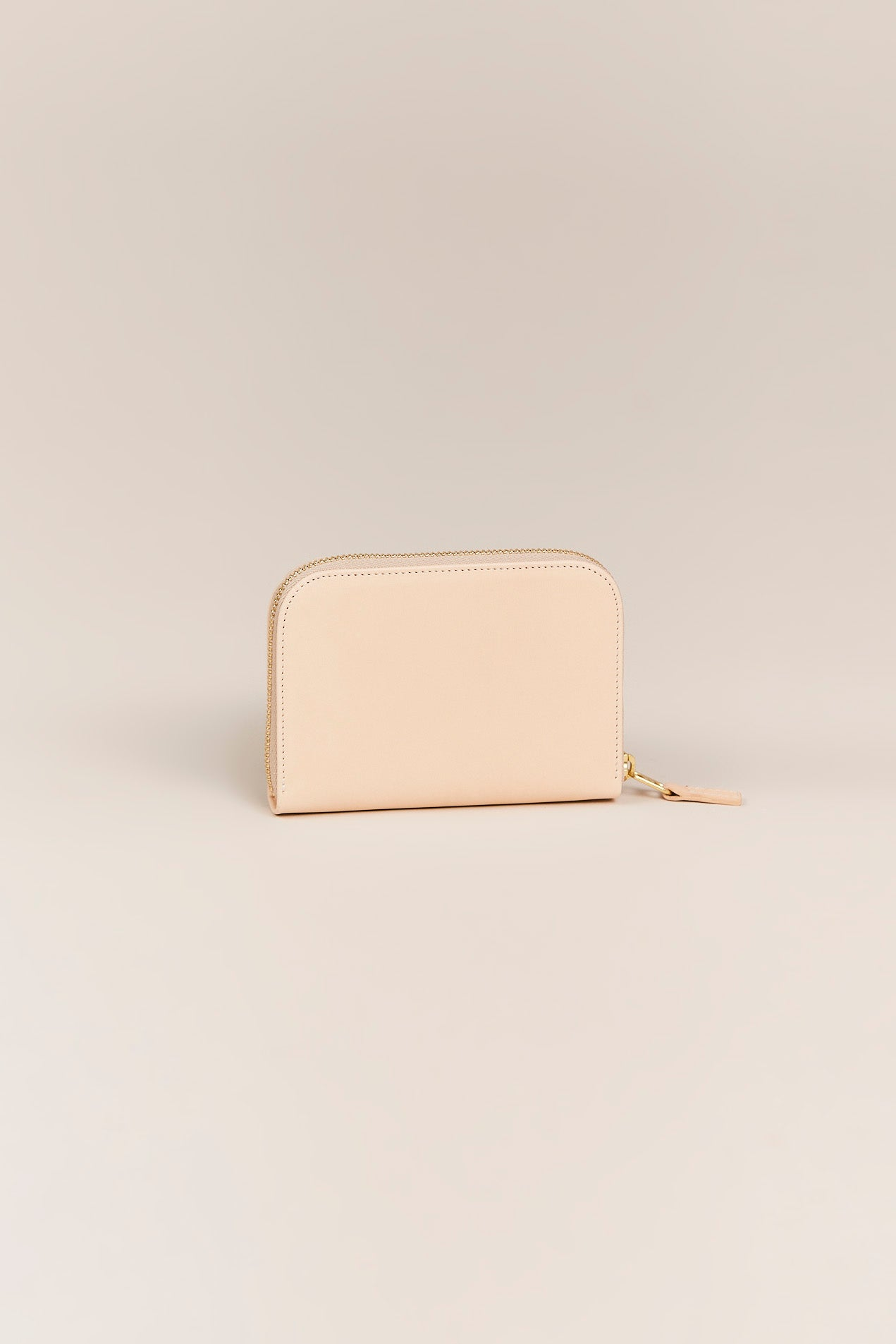 PB 0110 - CM 3.1 Small Zip Wallet, Natural