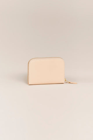 C.M 3.1 Small Zip Wallet, Natural
