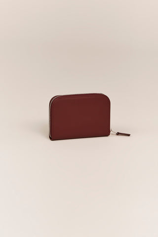 C.M 3.1 Small Zip Wallet, Wine