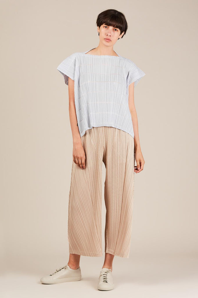 Pata Box Top, Ice Grey - Pleats Please by Issey Miyake