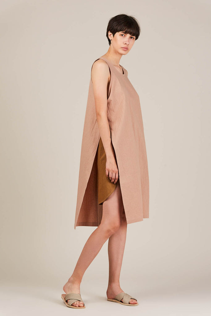 Ria tunic, dusty pink
