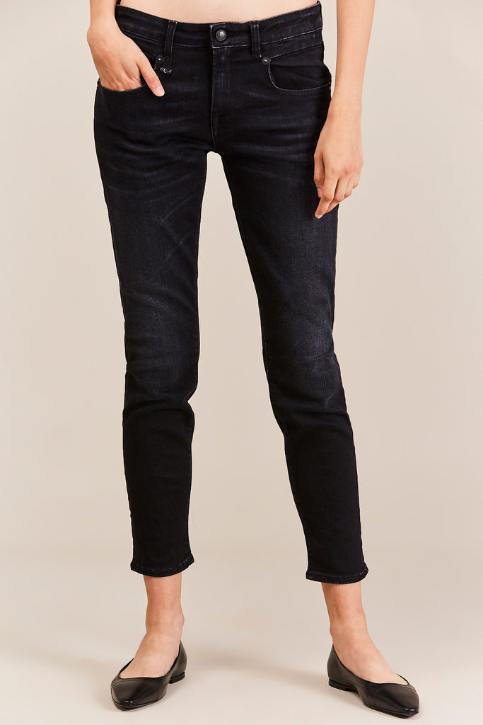 R13 - Boy Skinny Denim, Dark Moon