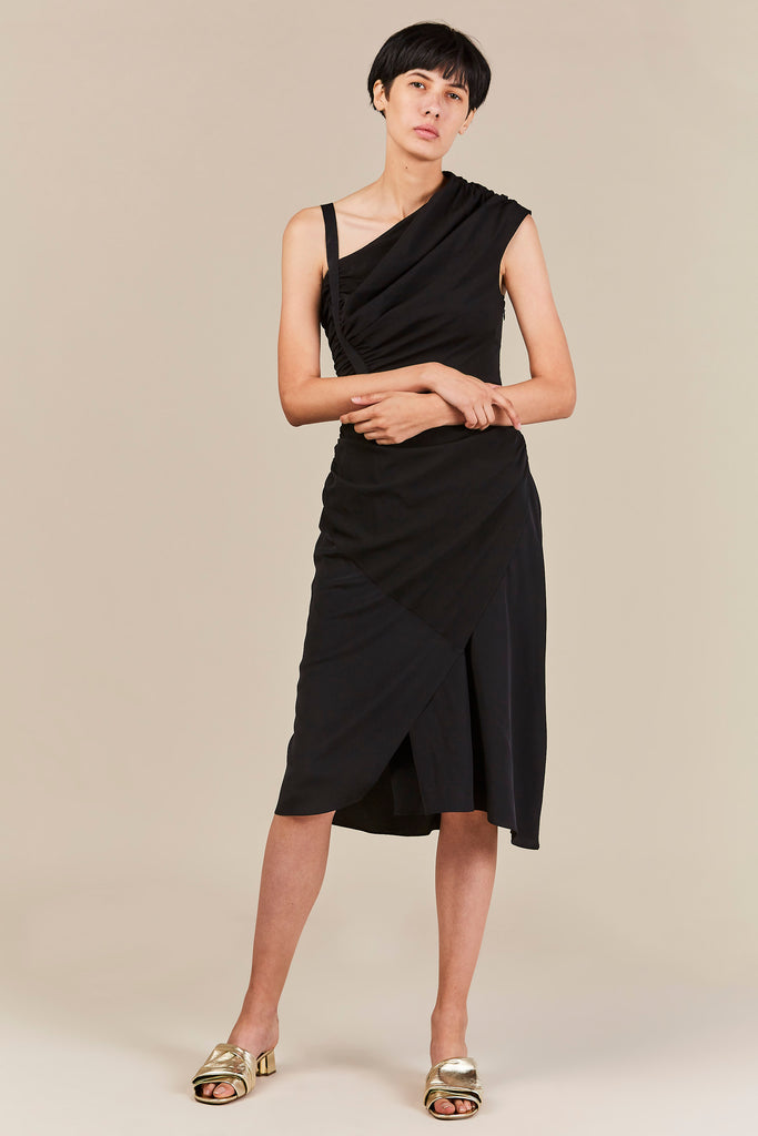 Amphion Dress, Black
