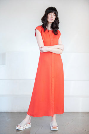 Rachel Comey - new chrysantha dress, coral