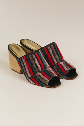 Dahl Striped Mule, Multicolor