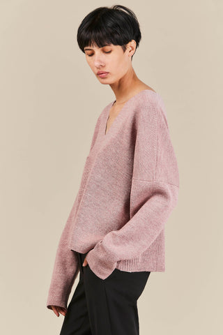 Fount Sweater, Lilac