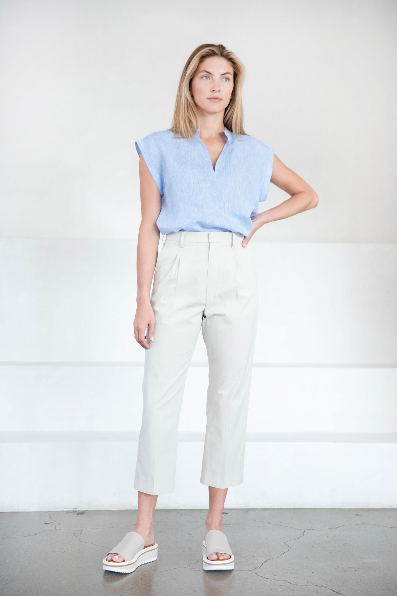 Rachel Comey - rusk top, blue