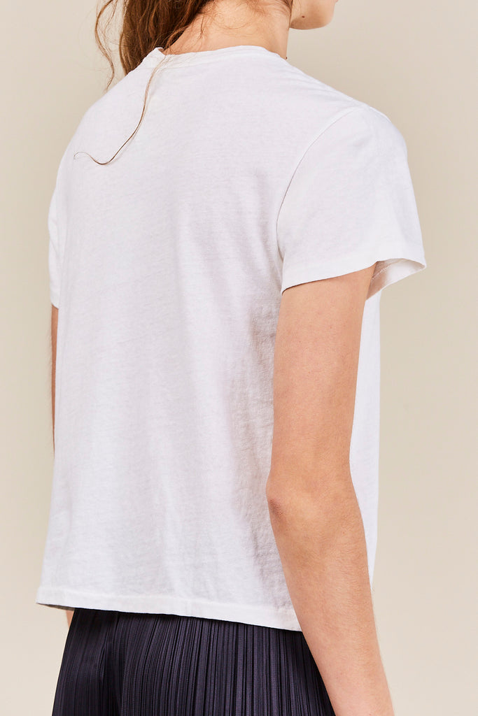 RE/DONE - The Classic Tee, Vintage White