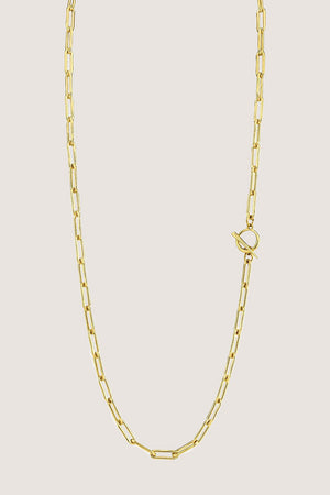 Gabriela Artigas - Rectangular Link Necklace, Gold
