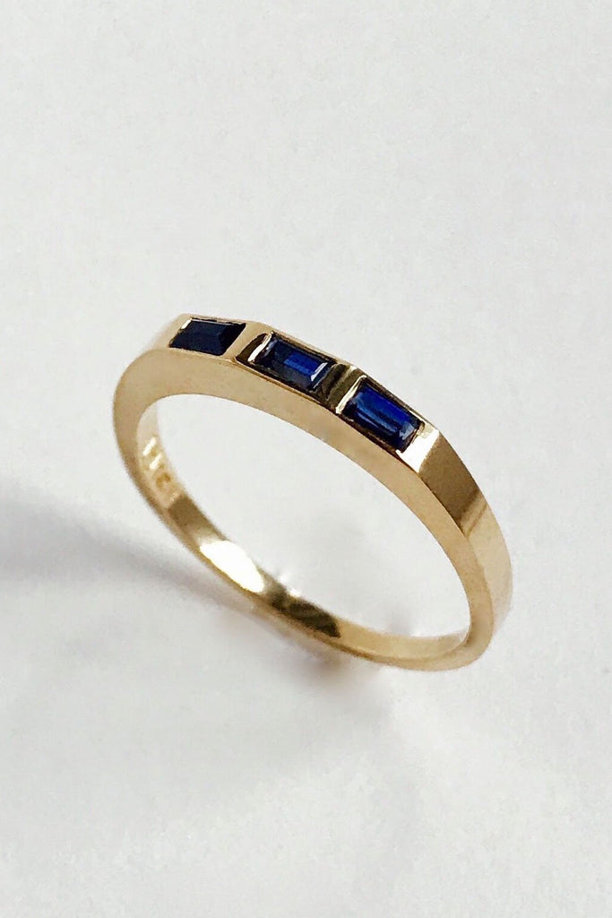 Ursa Major - Stella Band, Gold with Sapphires