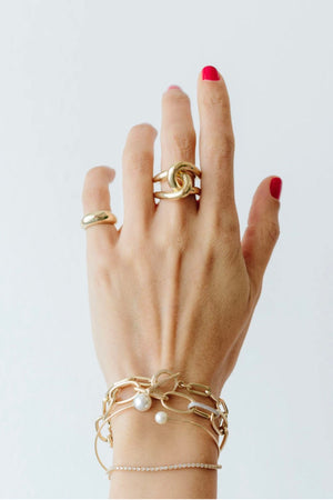 Gabriela Artigas - full link ring, gold