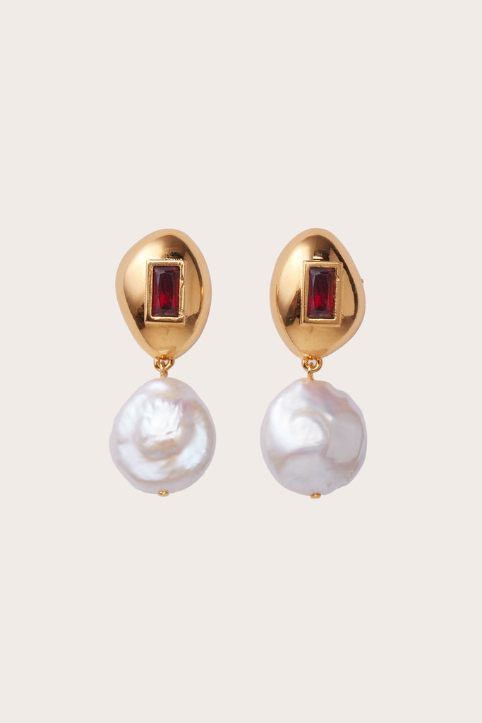 Lizzie Fortunato - Royal Pearl Earrings