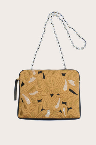 Safari Clutch, Quilted Floral