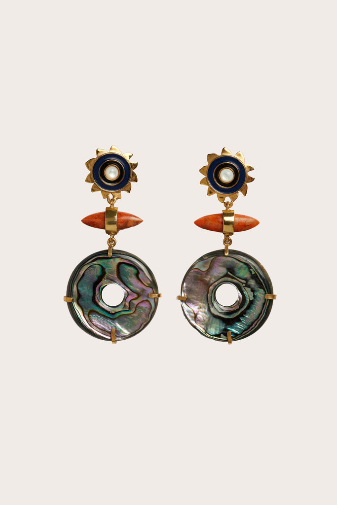 Lizzie Fortunato - Saint Florent Earrings