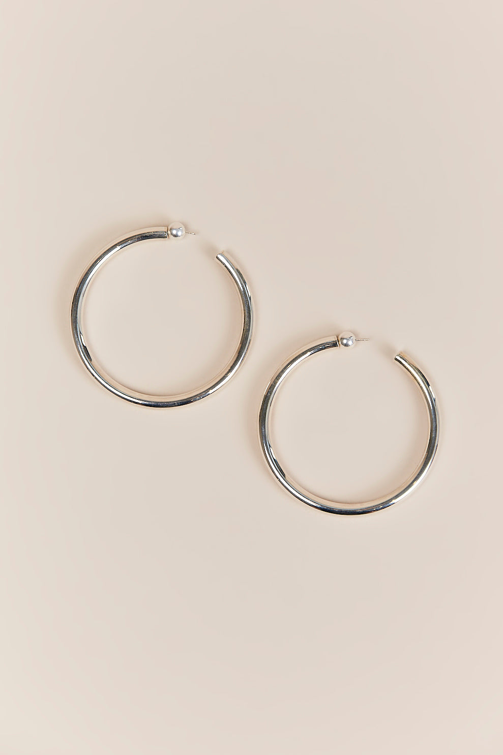 shop earrings filled hoop everyday gold marisa rose