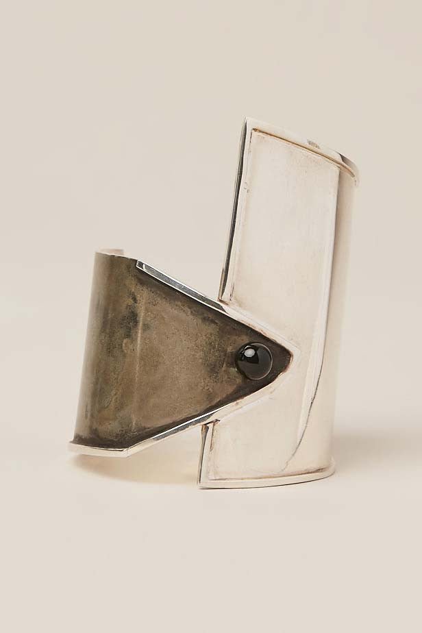 Onyx Oyster Cuff by Sophie Buhai