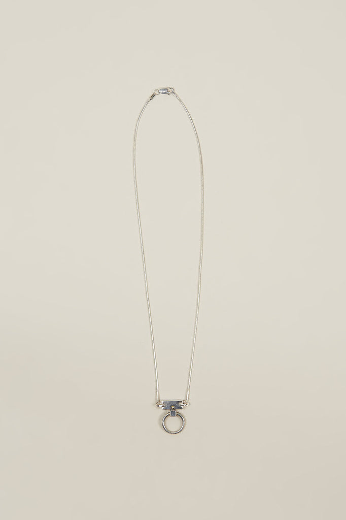 Threshold necklace, Silver by Open House @ Kick Pleat - 2