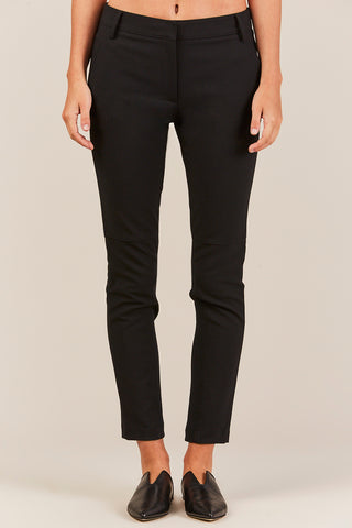 Anson Low Rise Skinny Pant, Black