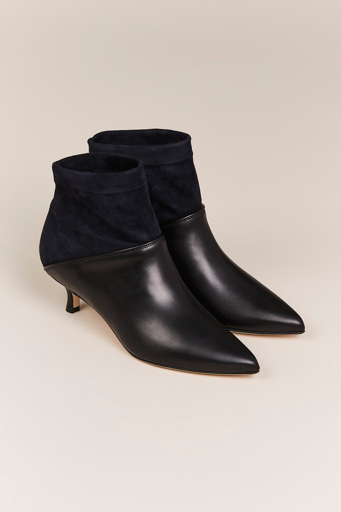 Jean Bootie, Navy/Black